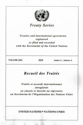 Treaty Series 2651 - Treaty Series (Paperback)