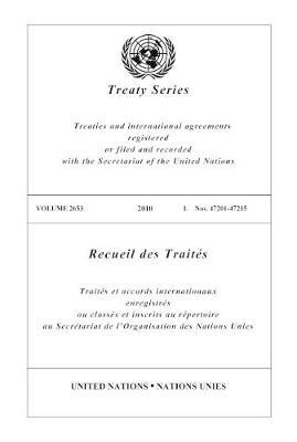 Treaty Series 2653 - Treaty Series (Paperback)