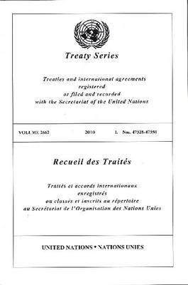 Treaty Series 2662 - Treaty Series (Paperback)