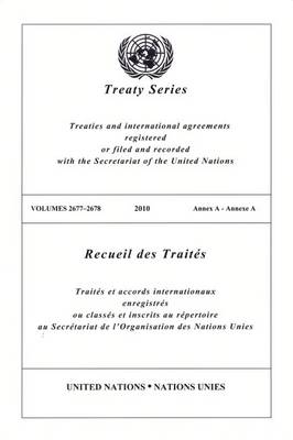 Treaty Series 2677 - 2678 - Treaty Series (Paperback)