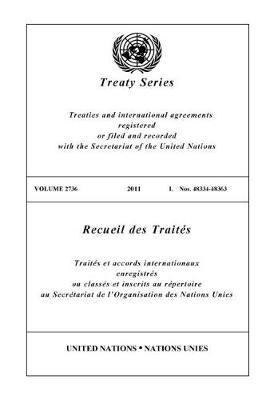 Treaty Series 2736 (Paperback)