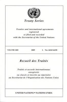 Treaty Series 2667 - Treaty Series (Paperback)