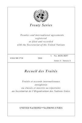Treaty Series 2728 (Paperback)