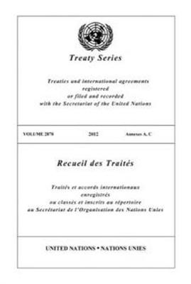 Treaty Series Volume 2878 (English/French Edition) (Paperback)