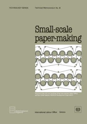 Small-scale Paper-making (Technology Series. Technical Memorandum No. 8) (Paperback)