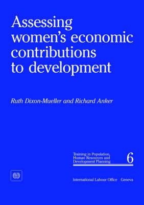 Assessing Women's Economic Contributions to Development (PHD 6) (Paperback)