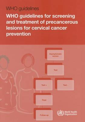 WHO guidelines for screening and treatment of precancerous lesions for cervical cancer prevention (Paperback)