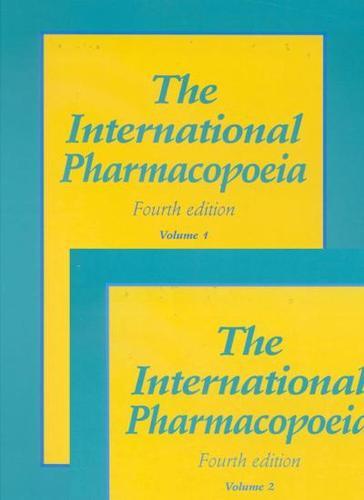 The International Pharmacopoeia: Pharmacopoea Internationalis (Hardback)