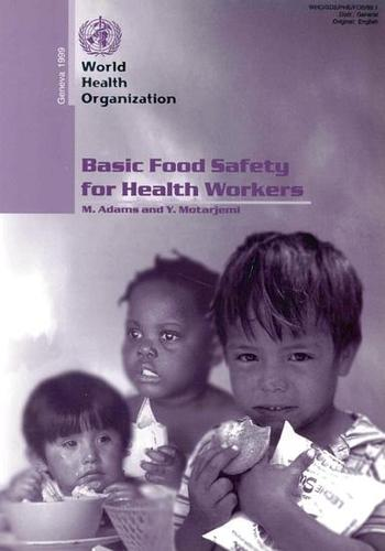 Basic Food Safety for Health Workers (Paperback)