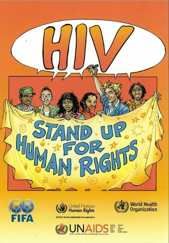 HIV Stand Up for Human Rights (Paperback)