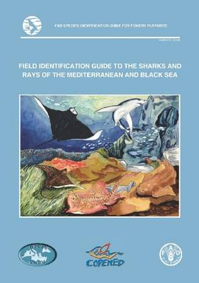 Field identification guide to the sharks and rays of the Mediterranean and Black Sea - FAO species identification guide for fishery purposes (Paperback)