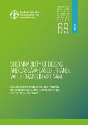 Sustainability of Biogas and Cassava-Based Ethanol Value Chains in Viet Nam: Results and Recommendations from the Implementation of the Global Bioenergy Partnership Indicators - Environment and Natural Resources Management Working Papers (Paperback)