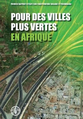 Pour des villes plus vertes en Afrique (Paperback)