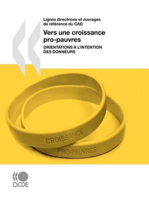 Lignes Directrices Et Ouvrages De Reference Du CAD Vers Une Croissance Pro-pauvres: Orientations a L'intention Des Donneurs (Paperback)