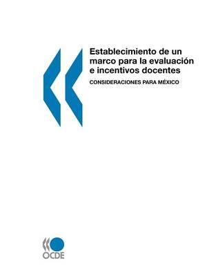 Establecimiento de Un Marco Para La Evaluaci N E Incentivos Docentes: Consideraciones Para M Xico (Paperback)