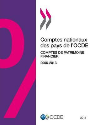 Comptes Nationaux Des Pays de L'Ocde, Comptes de Patrimoine Financier 2014 (Paperback)