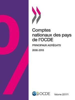 Comptes Nationaux Des Pays de l'Ocde, Volume 2017 Numero 1 Principaux Agregats - Comptes Nationaux Des Pays de l'Ocde (Paperback)