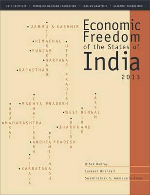 Economic Freedom of the States of India 2013 (Paperback)