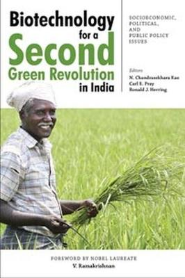 Biotechnology for a Second Green Revolution in India: Socioeconomic, Political, and Public Policy Issues (Hardback)