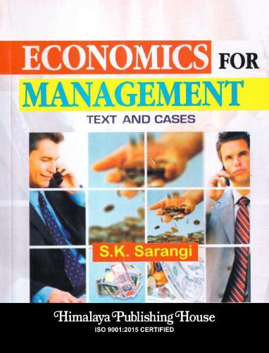 Economics for management (Hardback)