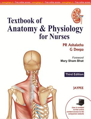 Textbook of Anatomy & Physiology for Nurses by P. R. Ashalatha, G ...