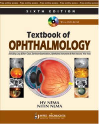 Textbook of Ophthalmology (Paperback)