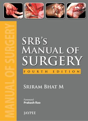 SRB's Manual of Surgery (Hardback)