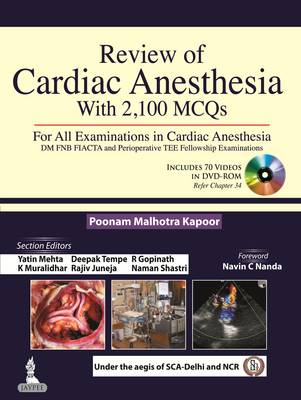Review of Cardiac Anesthesia with 2100 MCQs (Paperback)