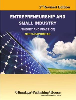 Entrepreneurship & Small Industry Theory & Practice (Hardback)