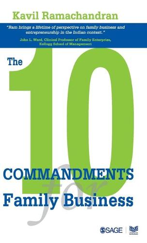 The 10 Commandments for Family Business (Hardback)