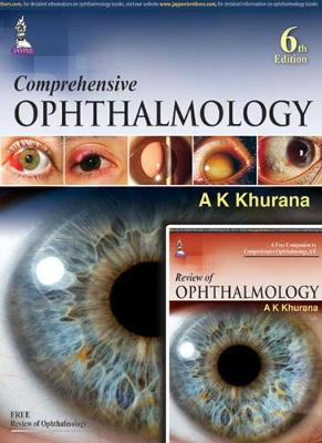 Comprehensive Ophthalmology: with Supplementary Book - Review of Ophthalmology (Paperback)