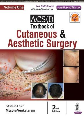 ACS(I) Textbook on Cutaneous & Aesthetic Surgery: Two Volume Set (Hardback)