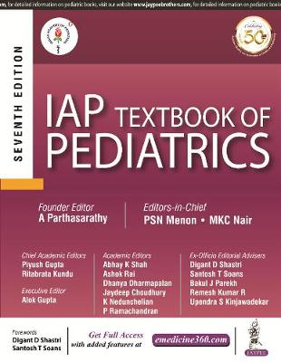 IAP Textbook of Pediatrics (Paperback)