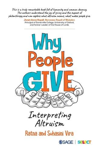 Why People Give: Interpreting Altruism (Paperback)