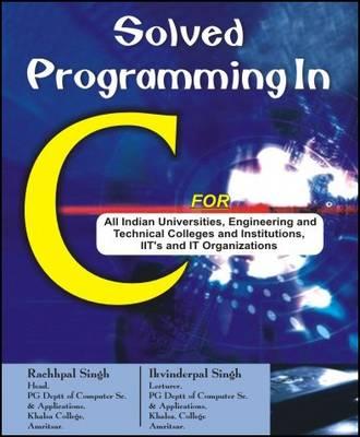 Solved Programming in C (Paperback)