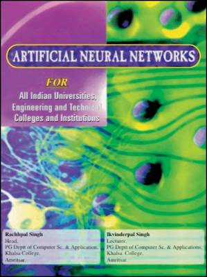 Artificial Neural Networks (Paperback)