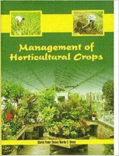 Management of Horticultural Crops (Hardback)