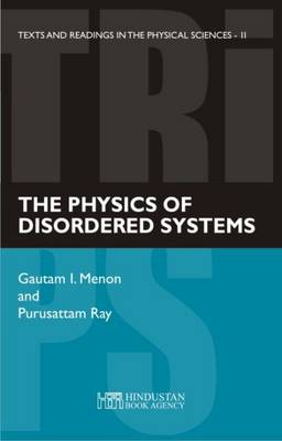 The physics of disordered systems - Texts and Readings in Physical Sciences 11 (Paperback)