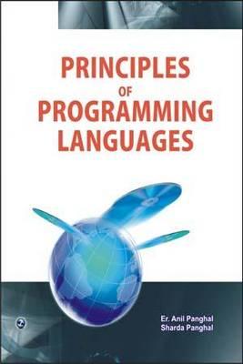 Principles of Programming Languages (Paperback)