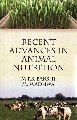 Recent Advances in Animal Nutrition (Hardback)