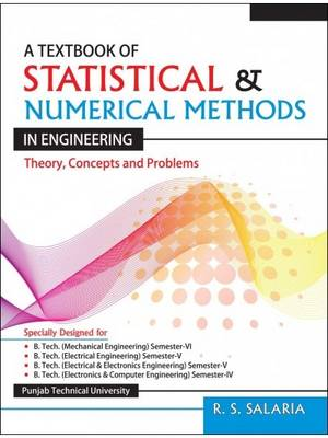A Textbook of Statistical & Numerical Methods in Engineering (Paperback)