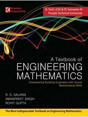 A Textbook of Engineering Mathematics (Ptu-III) (Paperback)
