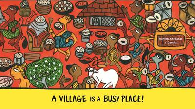 A Village is a Busy Place (Hardback)