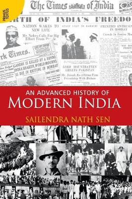 An Advanced History of Modern India (Paperback)