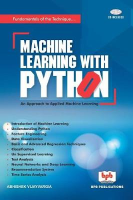 Machine Learning with Python (Paperback)