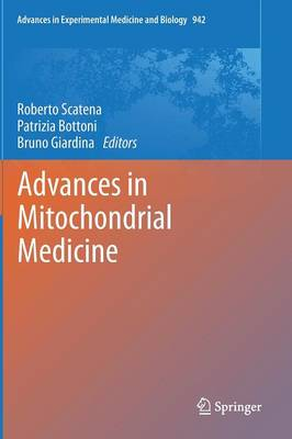 Advances in Mitochondrial Medicine - Advances in Experimental Medicine and Biology 942 (Hardback)