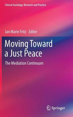 Moving Toward a Just Peace: The Mediation Continuum - Clinical Sociology: Research and Practice (Hardback)