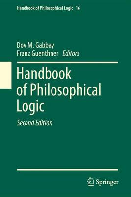 Handbook of Philosophical Logic: Volume 16 - Handbook of Philosophical Logic 16 (Paperback)