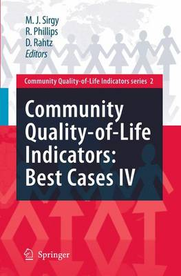 Community Quality-of-Life Indicators: Best Cases IV - Community Quality-of-Life Indicators 2 (Paperback)
