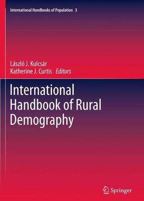 International Handbook of Rural Demography - International Handbooks of Population 3 (Paperback)